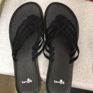 Sanuk Salty Yoga Mat flip flop sandal 7